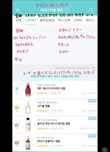 韓国アプリ ファヘ 使い方と見方
